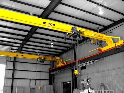 Top Running Single Girder Overhead Crane, Structural Construction, Single Hoist