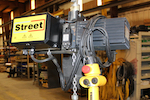 For Sale: Street 1/2 Ton Capacity (1000 lbs.)  Model LX Electric Chain Hoist